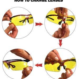 b2f9987d79 Bright Dezigns Accessories - NWT Unisex polarized sports sunglasses. 5  lenses